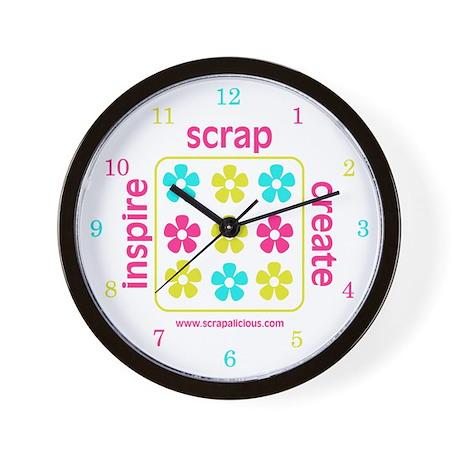 Inspire~Create~Scrap - V.3 Wall Clock