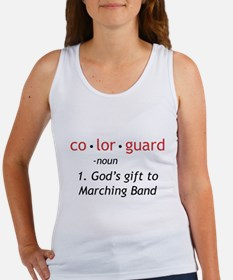 Definition of Colorguard Women's Tank Top