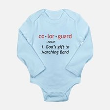 Definition of Colorguard Long Sleeve Infant Bodysu