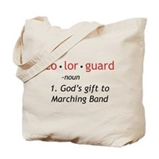 Definition of Colorguard Tote Bag