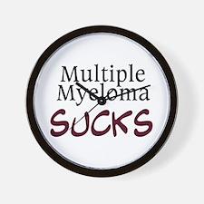 Multiple Myeloma Sucks Wall Clock