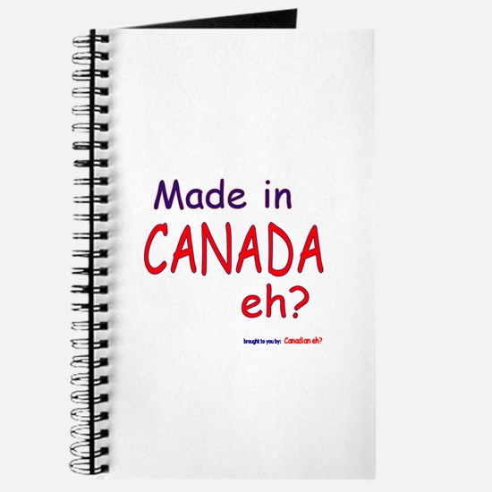 Canadian Eh? Journal