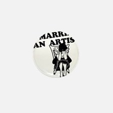 I Married an Artist Mini Button