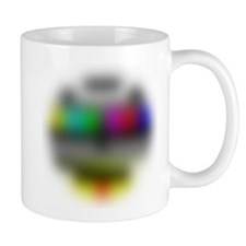 Over the hill test pattern Mug