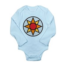 Ishtar Star (color) Symbol Long Sleeve Infant Body