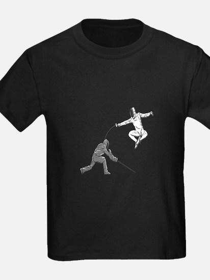 Fencing Match T-Shirt