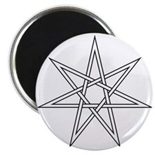 "7-Pointed Star Symbol 2.25"" Magnet (100 pack)"