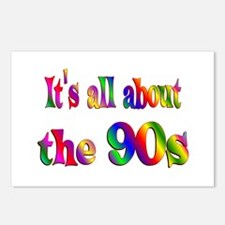 All About 90s Postcards (Package of 8)