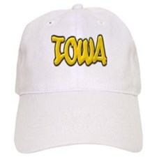 Iowa Graffiti Baseball Cap