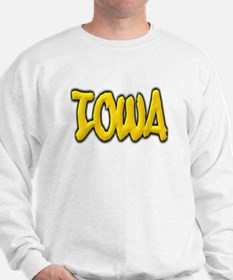Iowa Graffiti Sweatshirt