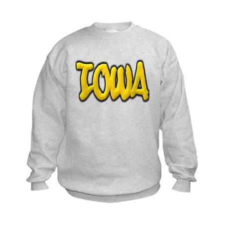 Iowa Graffiti Kids Sweatshirt