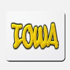Iowa Graffiti Mousepad