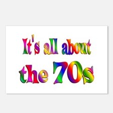 All About 70s Postcards (Package of 8)