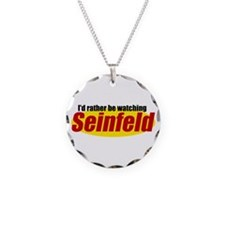 Seinfeld Logo Necklace