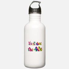 All About 40s Water Bottle