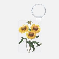 Redoute Sunflowers Keychains