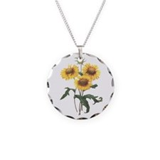 Redoute Sunflowers Necklace