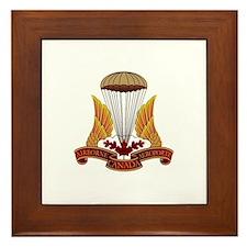 Canadian Special Forces Framed Tile