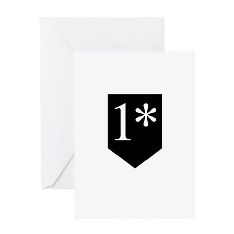 One Asterisk Greeting Card