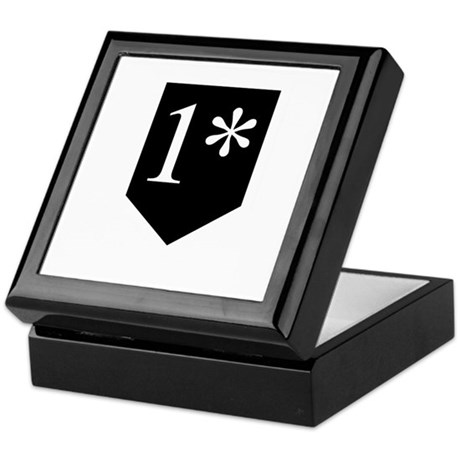 One Asterisk Keepsake Box