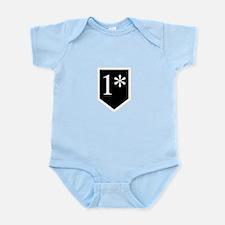 One Asterisk Infant Bodysuit
