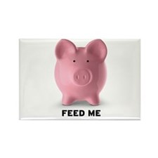 Feed Me Rectangle Magnet