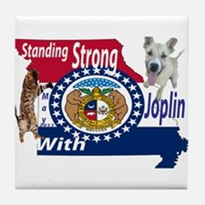 Standing Strong With Joplin Tile Coaster