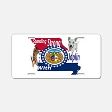 Standing Strong With Joplin Aluminum License Plate