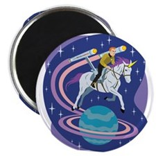 Star Trek Unicorn Enterprise Magnet