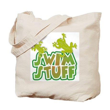 Froggy Swim Stuff Tote Bag