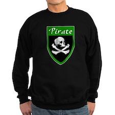 Pirate Green Patch Sweatshirt
