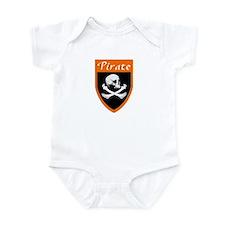 Pirate Orange Patch Infant Bodysuit