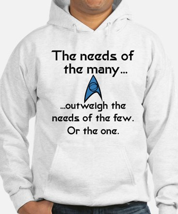 Needs of the Many Jumper Hoody