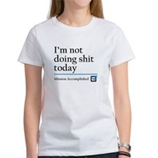 Im Not Doing Sh*t Today Tee