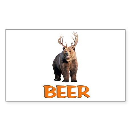 Beer Sticker (Rectangle)