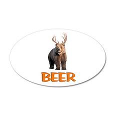 Beer 22x14 Oval Wall Peel