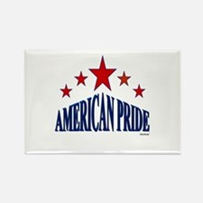 American Pride Rectangle Magnet