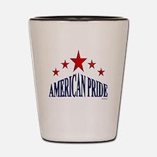 American Pride Shot Glass