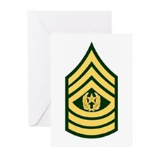 Command Sergeant Major<BR>Greeting Cards (6)