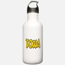 Iowa Graffiti Water Bottle