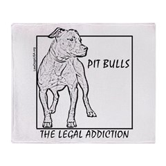 Legal Addiction Throw Blanket