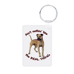 The REAL Thing Keychains