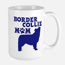 Border Collie MOM Large Mug