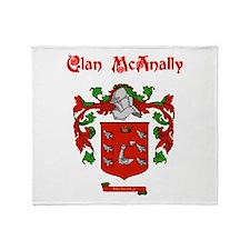Clan McAnally Throw Blanket