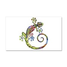 ART GECKO - Car Magnet 12 x 20