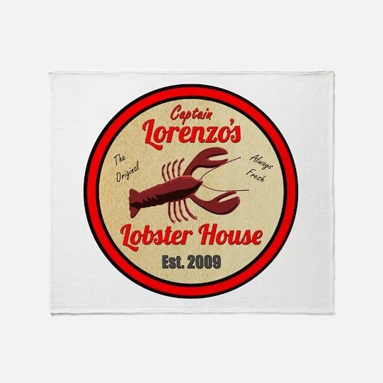 Lobster House 1- Throw Blanket