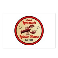 Lobster House 1- Postcards (Package of 8)
