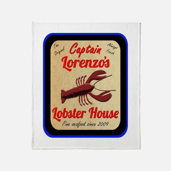 Lobster House 2 - Throw Blanket