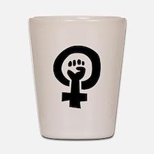 Unique Feminism Shot Glass
