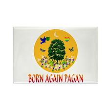 Born Again Pagan Rectangle Magnet